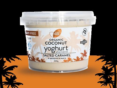 Pure Free Organic Coconut Yoghurt Salted Caramel'