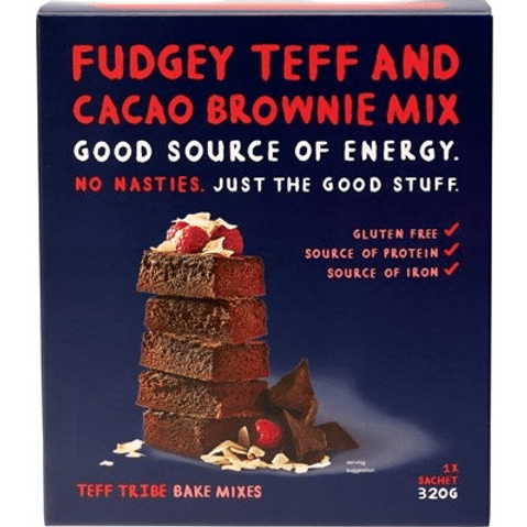 Teff Tribe Fudgey Teff and Cacao Brownie Mix