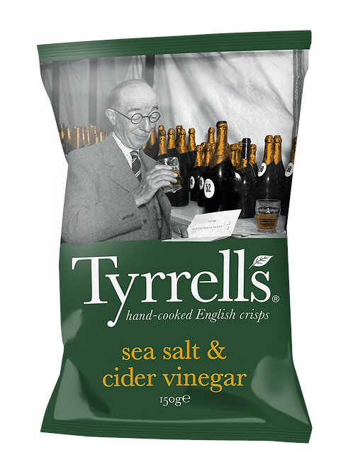 Tyrells Sea Salt & Vinegar chips