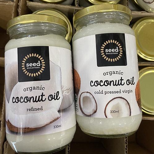 Organic Coconut Oil 330ml - REFINED