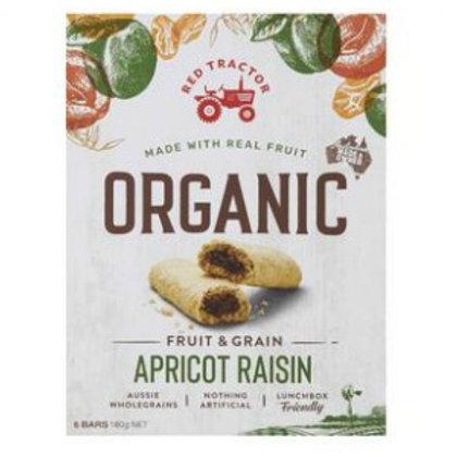 Red Tractor Organic Apricot Raisin Bars