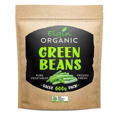 Elgin Frozen - Organic Green Beans 600g