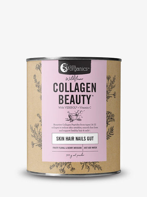 Nutra Organics Collagen Beauty -Wildflower 300g