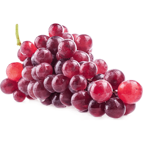 Organic Seedless Red Grapes- 500g
