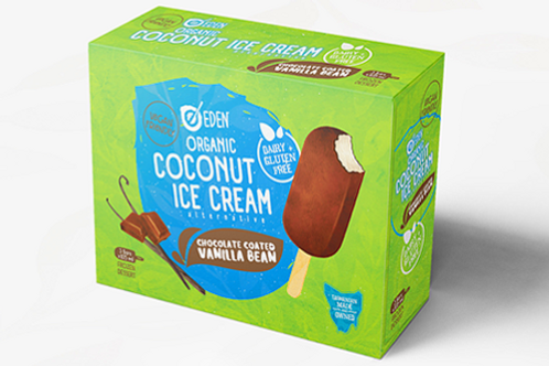 Organic Eden Coconut Ice Cream