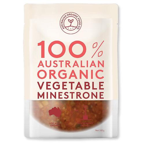 AUSTRALIAN ORGANIC FOOD CO - MINESTRONE VEG SOUP 500g