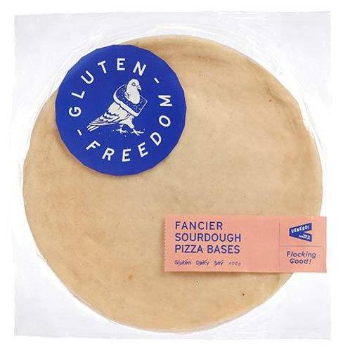 Gluten Freedom- Sweet Potato Sourdough Pizza Bases 2pk