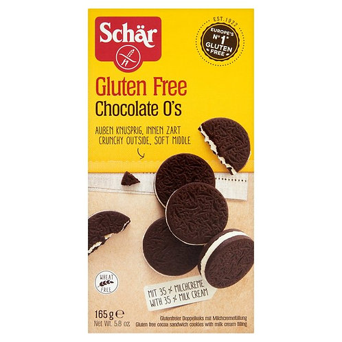 Schar GF Chocolate O's Biscuits