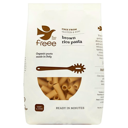 Doves Farm GF Brown Rice Pasta -