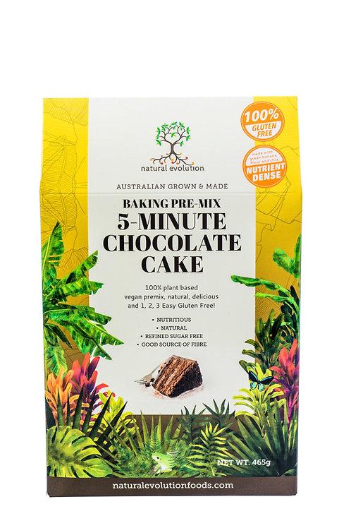 5 Min Chocolate Cake Baking Mix