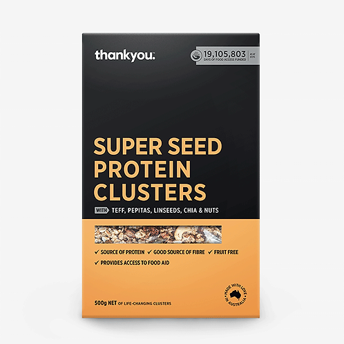 Thank you Super Seed Protein Clusters