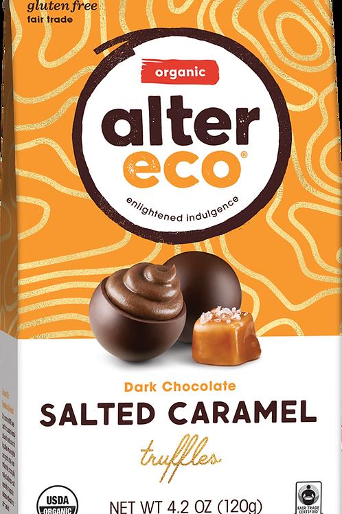 Alter Eco Organic -  Salted Caramel Dark Chocolate Truffles