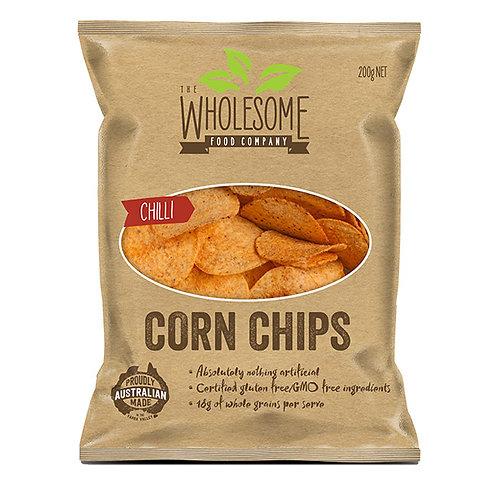Wholesome Food Company Corn Chips - Chilli