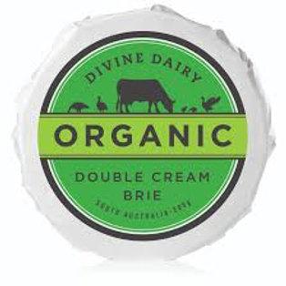 Divine Dairy Organic Double Cream Brie