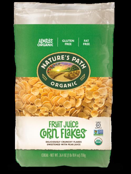 Natures Path Fruit Juice Corn Flakes 907g