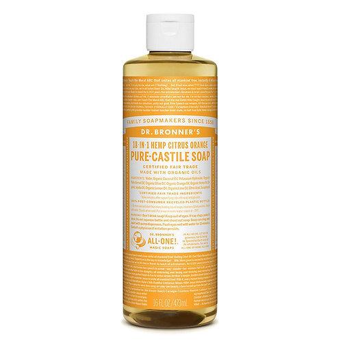Dr. Bronner's Pure Castile Soap Citrus