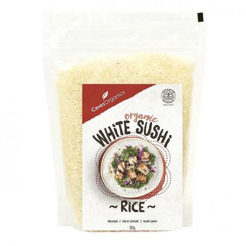 Ceres Organics- Organic White Sushi Rice 500g