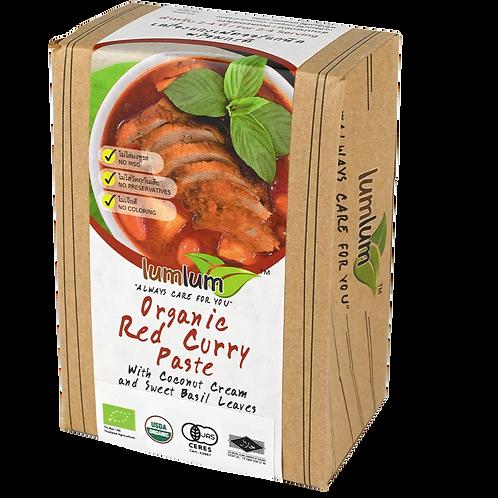 Lum Lum- Organic Red Curry Paste