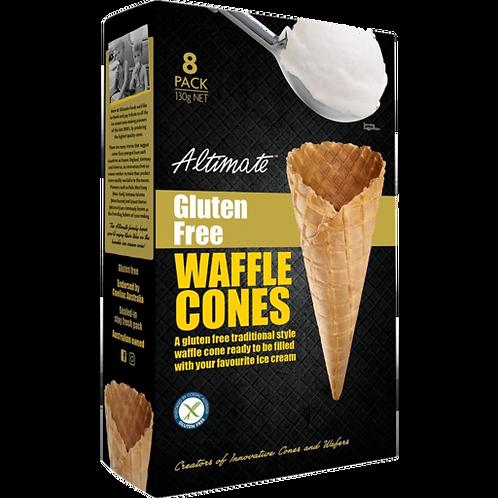 Altimate Waffle Cones x8