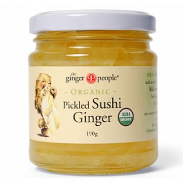 Organic Pickled Sushi Ginger
