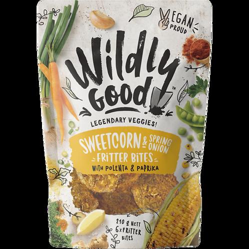 Wildly Good Sweetcorn Fritter Bites x6