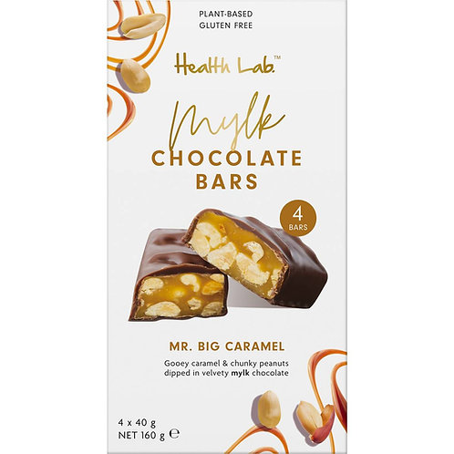Health Lab - mylk Chocolate Bars - Caramel