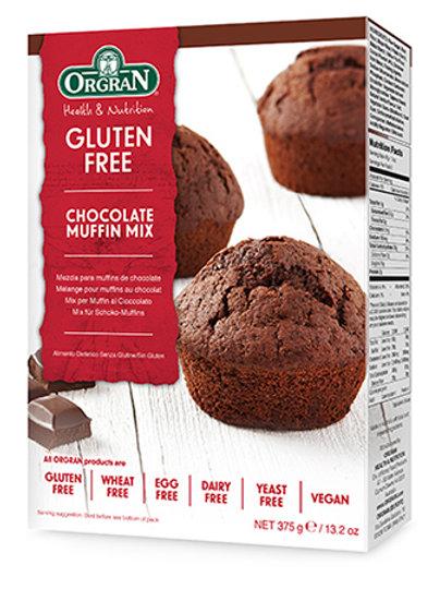 Orgran Gluten Free Choc Muffin Mix