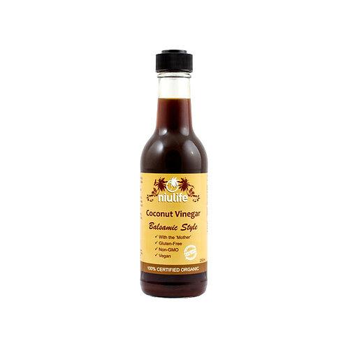 Niulife Organic Balsamic Coconut Vinegar