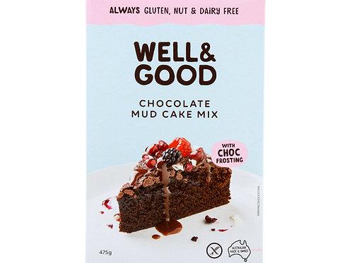 Well and Good GF Choc Mud Cake Mix