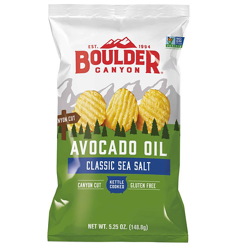 Boulder- Avocado Oil Classic Sea Salt Chips