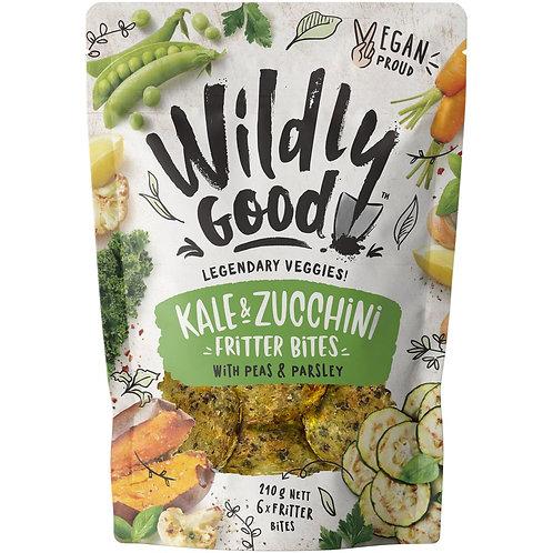 Wildly Good Kale & Zucchini Fritter Bites x6