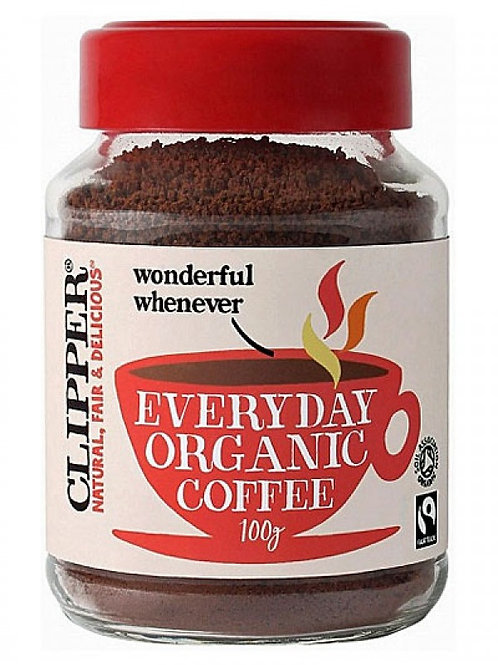 Clipper Organic everyday instant Coffee
