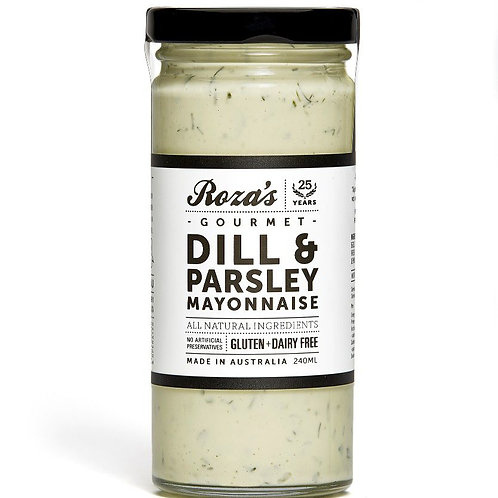 Rosa's Gourmet Dill and Parsley Mayo