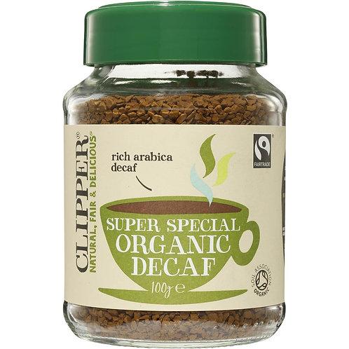 Clipper Organic Instant Coffee - Decaf