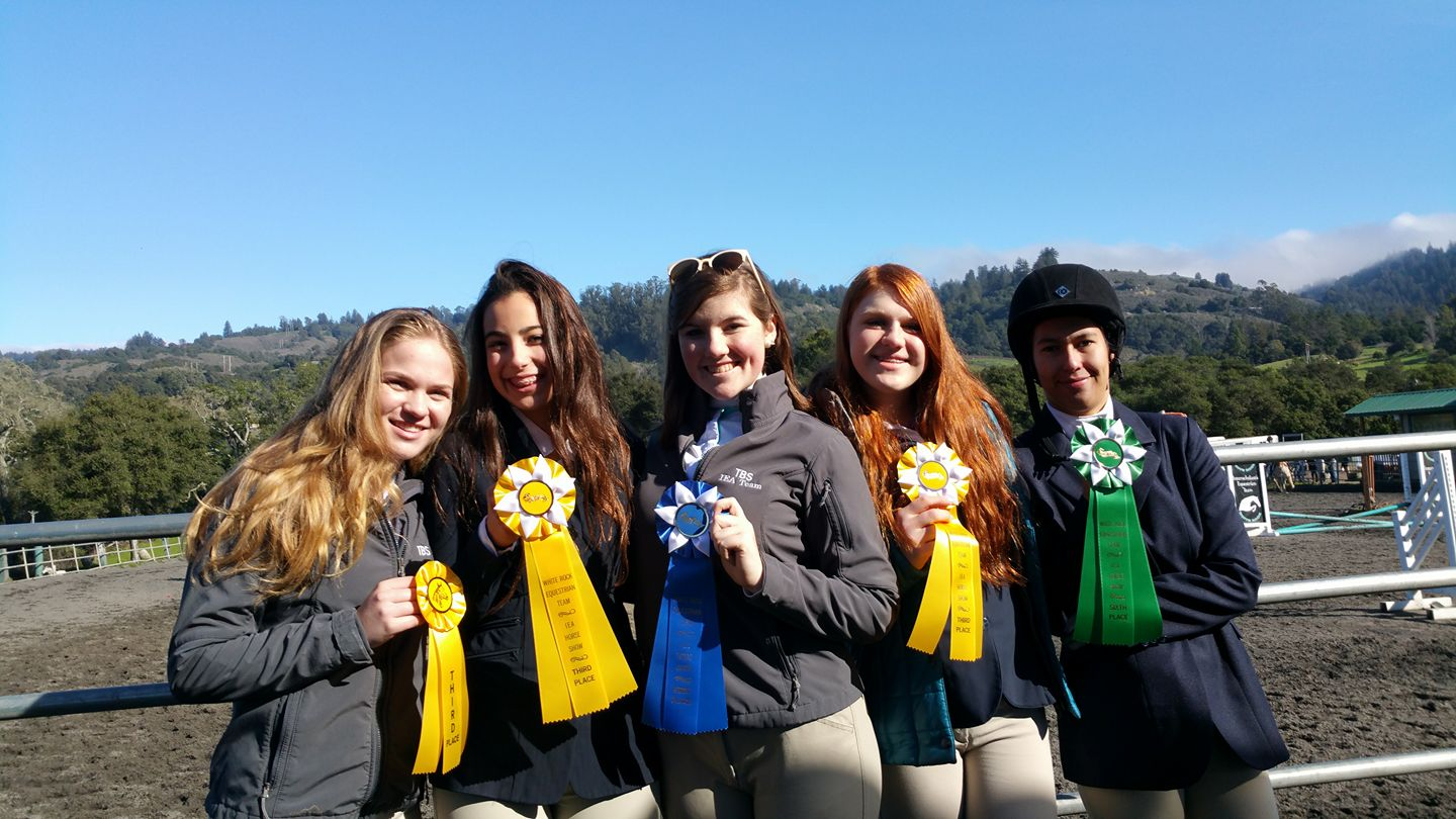 TBS IEA Riders with Ribbons