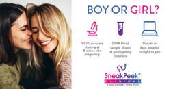 SneakPeek Gender DNA test