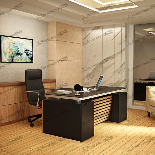 Contemporary Office Set Up with Modern Furniture