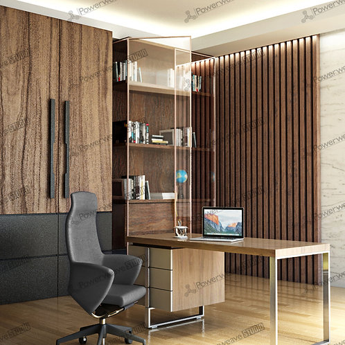 Modern Office Table and Chair