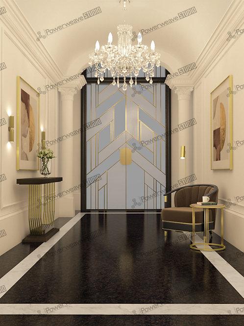 Elegant Doorway Passage