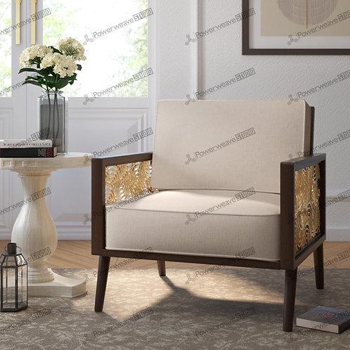 Elegant Sitting Chair in Modern Living Set Up