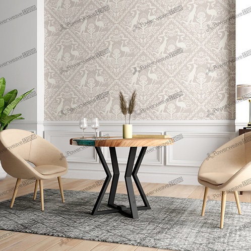 Contemporary Armchairs in Chic Set Up