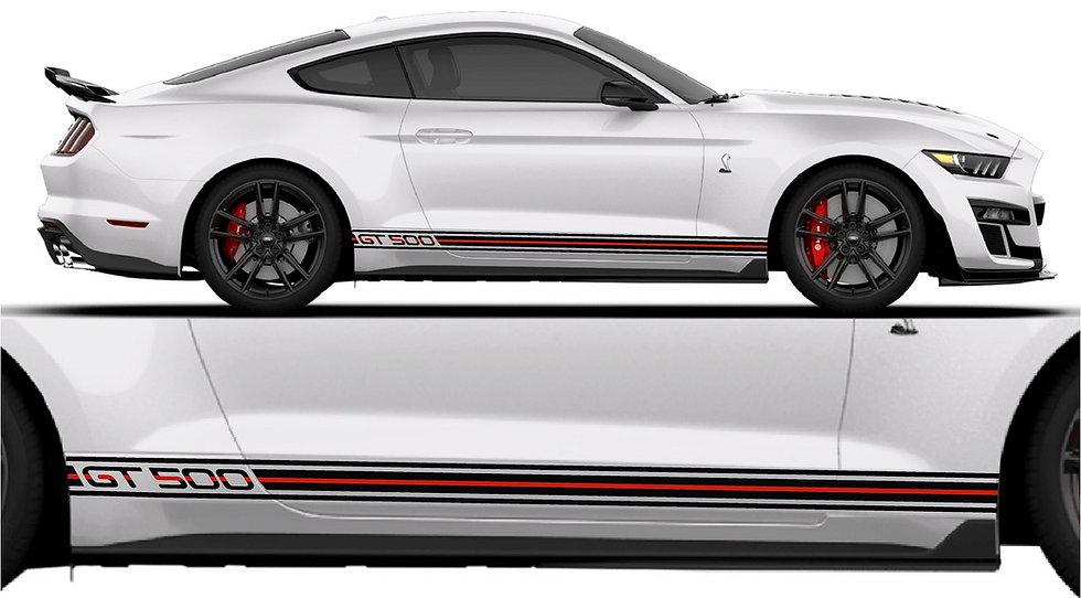 GT500 Venom Side Stripe