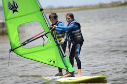 windsurfing in cape town is fun