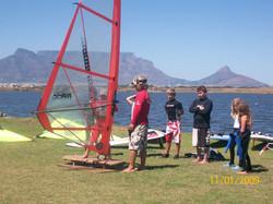 Windsurfing Simulator Training, Cape Town