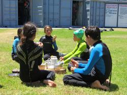 Tea Break - Windsurfing Course 2014
