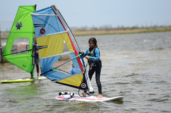 windsurfing in cape town