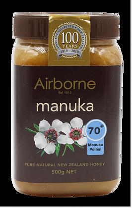 น้ำผึ้งมานูก้าแอกทีฟ(70+) 500g