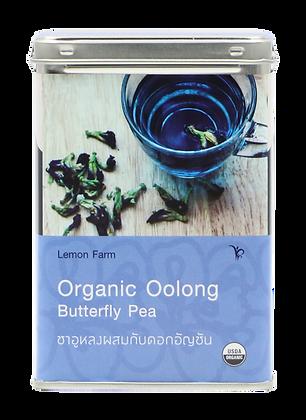 ชาอูหลง-อัญชันอินทรีย์(6ซอง)