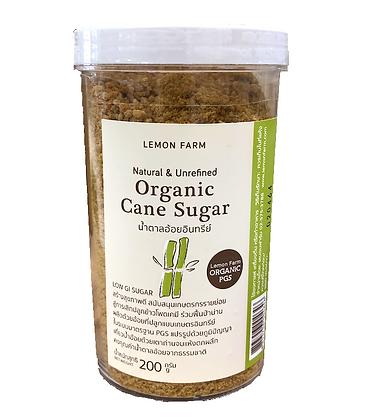 น้ำตาลอ้อยอินทรีย์ 200g