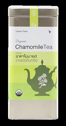 ชาคาโมมายล์อินทรีย์(10ซองชง)